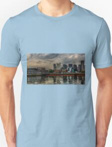 Blue sunrise in Boston, MA T-Shirt