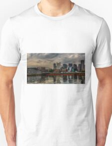 Blue sunrise in Boston, MA Unisex T-Shirt