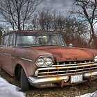 Abandoned Rambler by Debbie  Roberts