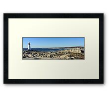 Peggy's Cove Panoramic 1 Framed Print