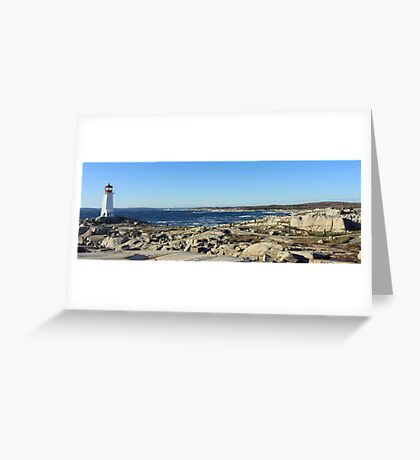 Peggy's Cove Panoramic 1 Greeting Card