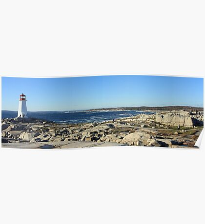 Peggy's Cove Panoramic 1 Poster