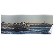 Peggy's Cove Panoramic 2 Poster