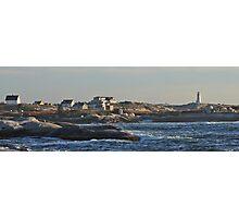 Peggy's Cove Panoramic 2 Photographic Print