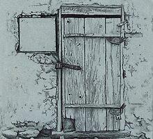 Locked door by v0ff