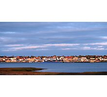 Yarmouth Waterfront with CAT Ferry Photographic Print