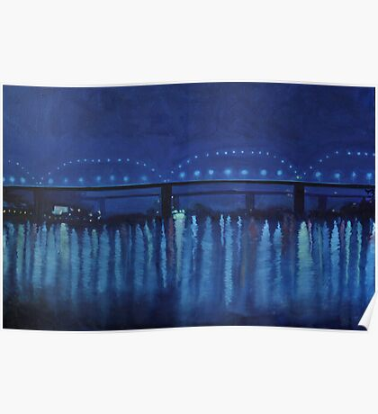 """Blue River"" Poster"