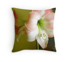SOMETHING ABOUT FLOWERS Throw Pillow
