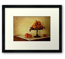 Fruitbowl Framed Print