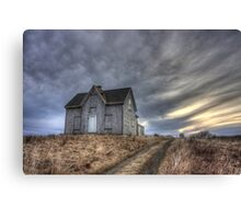 Abandoned House, Pembrook Nova Scotia Canvas Print