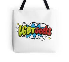 LGBT Geeks Logo Tote Bag