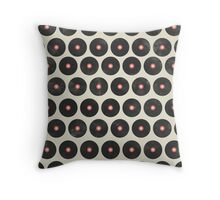 Music Vinyl Records Throw Pillow