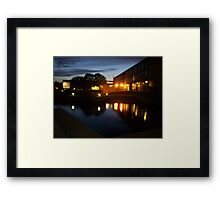 uni Lights Framed Print