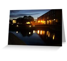 uni Lights Greeting Card
