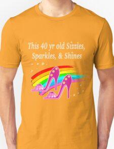 FABULOUS 40 YR OLD SHOE QUEEN T-Shirt