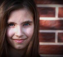 blue eyed girl by MarAndra