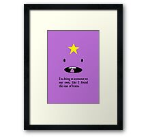 "LSP - ""So awesome on my own"" Framed Print"
