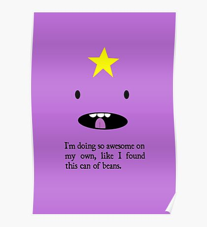 """LSP - """"So awesome on my own"""" Poster"""
