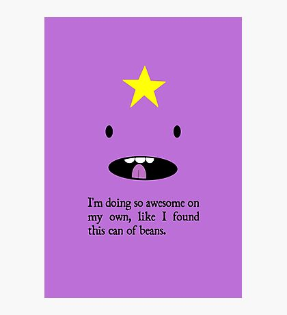 "LSP - ""So awesome on my own"" Photographic Print"