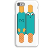 Perryyyy Perry the Platypus secret agent iPhone Case/Skin
