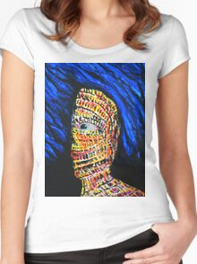 The Stressed Mind Women's Fitted Scoop T-Shirt
