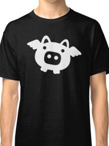 Flying Pig White Classic T-Shirt