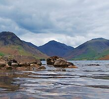 Wastwater, English Lake District, 9th May 2010. by Phil Mitchell