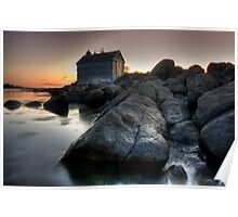 First Light at the Boat House Poster