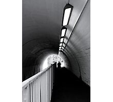 Tunnel Figure Photographic Print