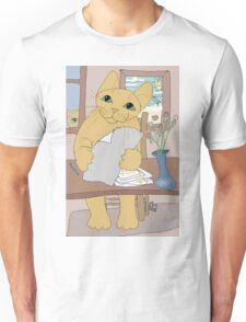 IS THAT CAT A WRITER? Unisex T-Shirt
