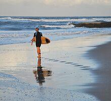Wave Weaver - Sunshine Coast Australia by Barbara Burkhardt
