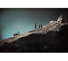 Rock Gathering Photographic Print
