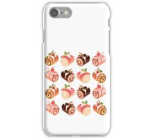 Dessert Rolls Pattern iPhone Case/Skin
