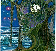 moon in my head by bluecolor
