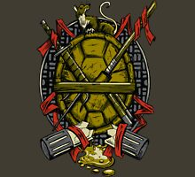 Turtle Family Crest Unisex T-Shirt