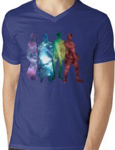 New Who Mens V-Neck T-Shirt