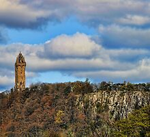 Wallace Monument by John M Howie