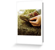 every grain tells a story Greeting Card