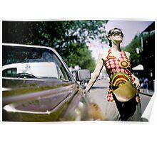 Cadillac girl Poster