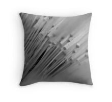 Forest of Soft White. Throw Pillow