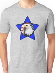 Bald Eagle & Blue Star Unisex T-Shirt