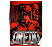 DREDD - Stylized and Impactful Poster Design Poster
