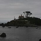Battery Point Lighthouse, Crescent City  by fototaker
