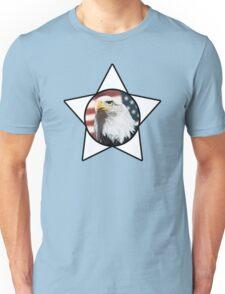 Bald Eagle & White Star T-Shirt Unisex T-Shirt