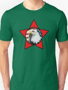 Bald Eagle & Red Star T-Shirt T-Shirt