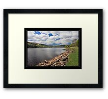 The Placid Lake Framed Print