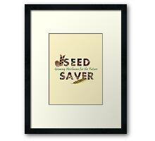 Seed Saver Framed Print