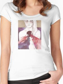 Supermassive Black Hole Women's Fitted Scoop T-Shirt