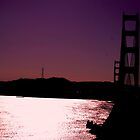 Golden gate  by Amanda Huggins