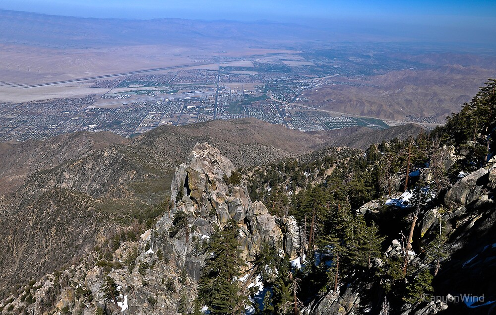 """"""" A view of the Coachella Valley """" by CanyonWind"""